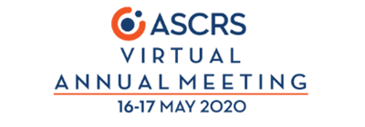 ASCRS Virtual Annual Meeting Logo