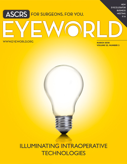 March  EyeWorld Cover